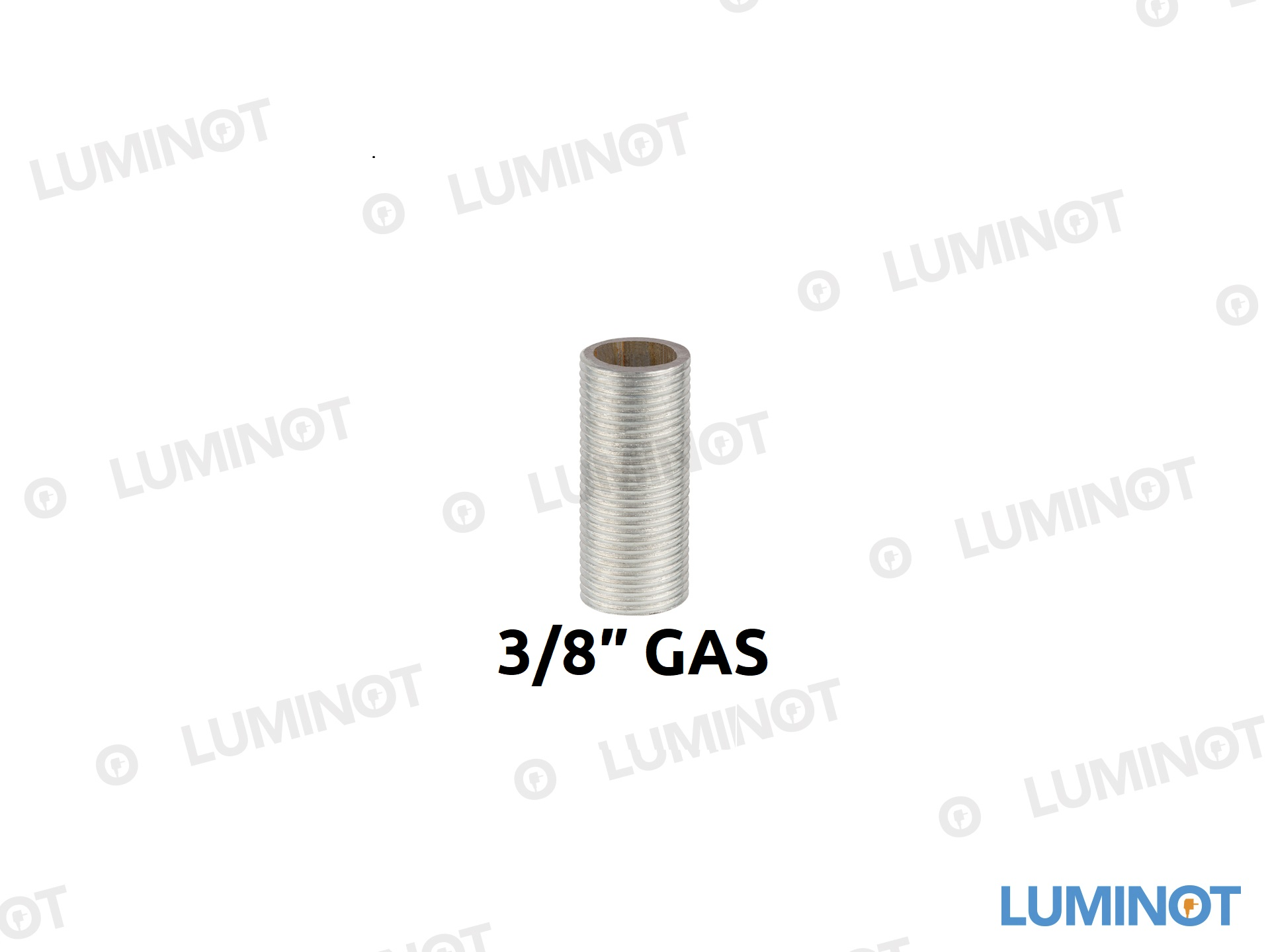 Draadeind 3/8″ GAS